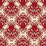 Damask ethnic seamless vector pattern Royalty Free Stock Photo