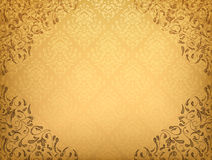 Damask floral background Royalty Free Stock Photo