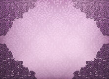 Damask floral background Royalty Free Stock Image
