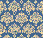 Victorian Vector Floral for background Royalty Free Stock Images