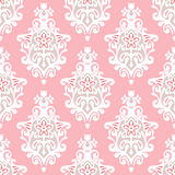 Damask flourish vector Royalty Free Stock Photography