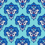Damask flower vector seamless Royalty Free Stock Photography