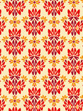 Damask foliage Pattern 2 Royalty Free Stock Image