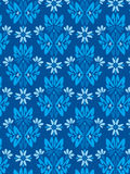 Damask foliage Pattern 2. Damask Style Pattern Background - Blue texture 2 - Vector Include layer whit pattern design source vector illustration