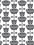 Damask foliage Pattern Royalty Free Stock Photography