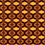 damask golden pattern Στοκ εικόνα με δικαίωμα ελεύθερης χρήσης