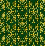 Damask green Royalty Free Stock Photos
