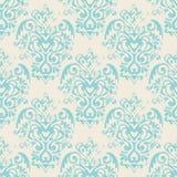 Damask grunge vector seamless pattern Royalty Free Stock Photography