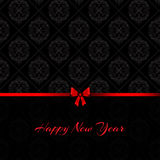 Damask happy new year background Stock Photography
