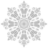 Damask  Orient Pattern. Damask  floral bright pattern with oriental gray elements. Abstract traditional ornament Stock Photo
