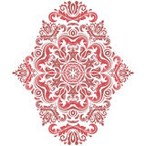 Damask Orient Pattern Stock Images