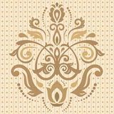 Damask  Oriental Pattern Royalty Free Stock Photo