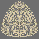 Damask Oriental Pattern Stock Image