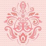 Damask Oriental Pattern Royalty Free Stock Image