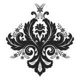 Damask Ornament Stock Image