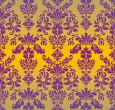 Damask ornament background Stock Images