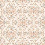Damask ornamental pattern Stock Photography