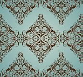 Damask ornate wallpaper Royalty Free Stock Photography