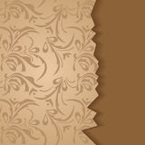 Damask page Stock Image