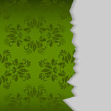 Damask page Royalty Free Stock Photo