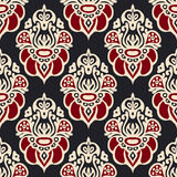 Damask paisley  oriental medallion luxury  Royalty Free Stock Images