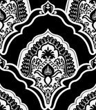 Damask pattern. Vector seamless pattern(can be repeated and scaled in any size Stock Image