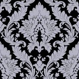 Damask pattern. Vector seamless pattern(can be repeated and scaled in any size Royalty Free Stock Images
