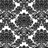 Damask pattern. Damask floral background pattern. Vector illustration