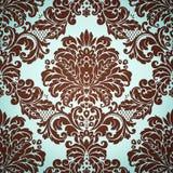 Damask pattern. Damask floral background pattern. Vector illustration Stock Images