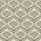 Damask pattern vector illustration