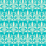 Damask Pattern. Vector seamless pattern background.  File includes pattern swatch Stock Photography