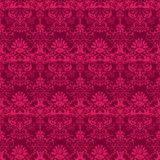 Damask pattern. Seamless damask pattern in two color Stock Photo