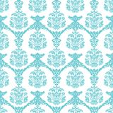 Damask pattern. Seamless damask pattern in one color Royalty Free Stock Photo