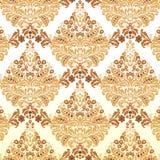Damask pattern vector illustration