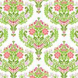 Damask pattern Royalty Free Stock Photos
