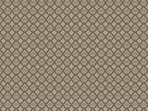 Damask Pattern - Golden Stock Photos