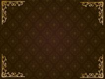 Damask pattern3. It is an illustration of a Damask pattern vector illustration