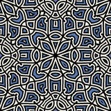Damask pattern Stock Photography
