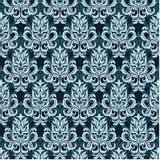 Damask pattern vector Royalty Free Stock Photography