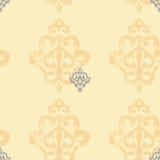 Damask pattern. Vintage style damask seamless pattern Royalty Free Stock Photo