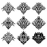 Damask Patterns Royalty Free Stock Image