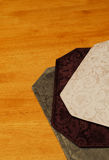 Damask Placemats Royalty Free Stock Photo