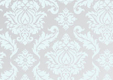 Damask repeat pattern. Vector illustration of a damask pattern in repeat Stock Photography