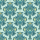 Damask Royal Seamless Pattern Vector Stock Photography