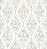 Damask Royal Wallpaper Stock Image