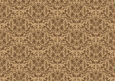 Damask seamless background Royalty Free Stock Image