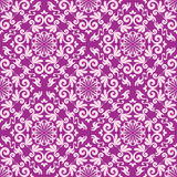 Damask seamless background Stock Photography