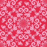 Damask seamless background Stock Photo