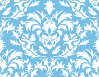 Damask seamless background Stock Photos