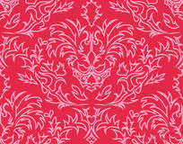 Damask seamless background Stock Images